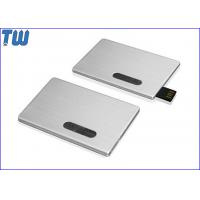 Promotion Slip Credit Card USB 2.0 Flash Drive High Printing Quality Best Service for sale
