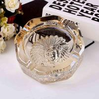China Work fine glass ashtrays for sale on sale
