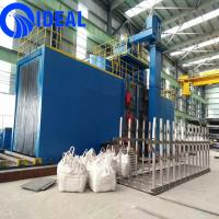 Buy cheap CE and ISO approved heavy duty large type shot blasting machine for surface improving from wholesalers