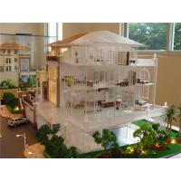 Wholesale Refined Handmade Architecture House Model With Internal Layout / Furniture from china suppliers