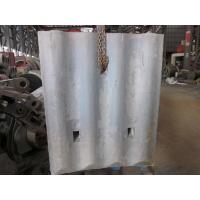 Wholesale High Cr White Iron Mill Liners D-12-D Coal Mill Hardness HRC58 - HRC61 After Shot Blasting from china suppliers