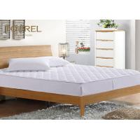 Wholesale Anti - Dustmite Waterproof Mattress Cover / Matress Topper 100% Cotton Fabic from china suppliers