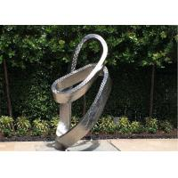 China Metal Modern Outdoor Garden Stainless Steel Garden Ornaments for sale