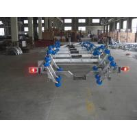 Wholesale Heavy Duty Galvanized Boat Trailer For Rib Boats , 960 cm Dual Axle Boat Trailer from china suppliers