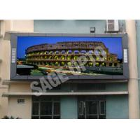 Wholesale High Brightness P10 Full Color LED Display Screen For Advertising , 160*160mm from china suppliers
