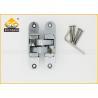 Wholesale Zinc Alloy Concealed Invisible Door Hinges , 3D Adjsuatble Cupboard Door Hinges from china suppliers