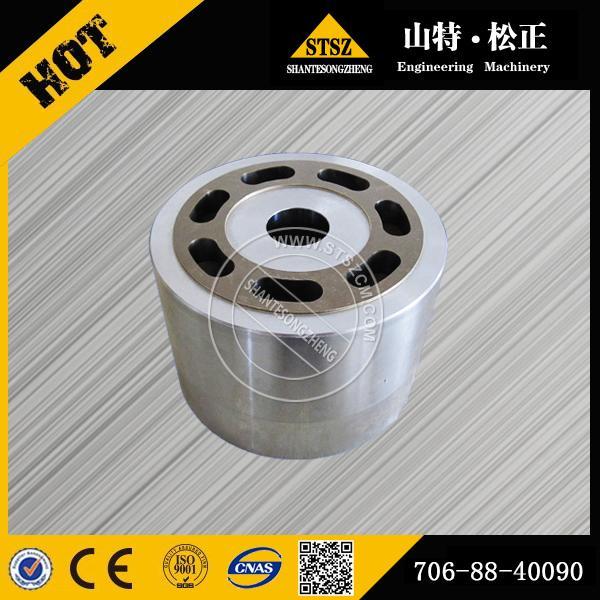 Quality Komatsu PC400-6 travel motor cylinder block 706-88-40090 for sale