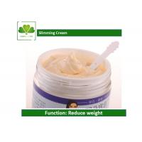 China OEM / ODM Anti Cellulite Slimming Cream , Slimming Weight Loss Cream For Stomach on sale