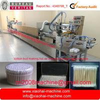 Wholesale Full automatic cotton buds machine ( bud swab,hot air drying,packing in one step) from china suppliers