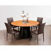 Wholesale Modern Dining Room Furniture,Walnut Wood Dining Table,Metal/PU Chiars from china suppliers