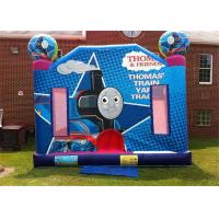 Wholesale 0.55mm PVC Residential Small Thomas Train Inflatable Bouncer 4m × 4m from china suppliers