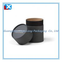 Quality Black Packaging Paper Can for sale