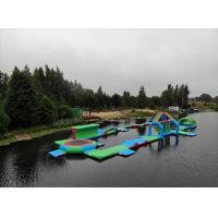 Buy cheap 2018 New Floating Inflatable Water Park For Lake / Aqua Inflatable Water Games Manufacturer from wholesalers