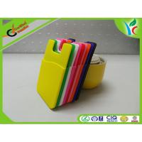 Buy cheap Portable Card Holder Cell Phone Silicone Cases Back Gift FDA Silicone from wholesalers