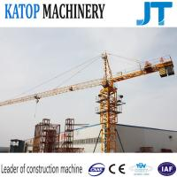 Wholesale Single gyration QTZ63-TC5010 4t load small tower crane with factory good price from china suppliers