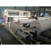 Wholesale Double Paper Paper Rewinder Machine / Tissue Slitting And Rewinding Machine from china suppliers