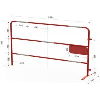 China Cusotmized Road Security Barriers ,Bridge Security Barriers ,Extremly Heavy Duty Barriers ,Made In CHina on sale