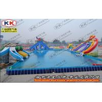 China Swimming Pool Inflatable Backyard water park Huge For Outdoor on sale