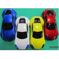 Wholesale Colored Car Shape Mini Card /USB Rechargeable Mini Speakers with FM Radio, Digital Display from china suppliers