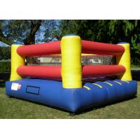 Wholesale 0.55mm pvc Inflatable Sports Games , Inflatable Indoor Court For Boxing Ring from china suppliers