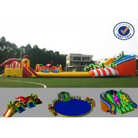 China 30m Amazing Inflatable Water Parks Eco-friendly Fire Resistance on sale