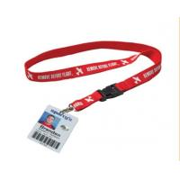 Wholesale Eco Friendly Card Holder Lanyard , Id Badge Lanyard For Students / Teachers from china suppliers