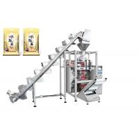 Buy cheap Rice / Pet Foods Packaging Machine With Lifting Conveyor Fast Speed 5 - 60 Bags from wholesalers