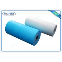 Wholesale Custom Width One - Time Use Non Woven Bed sheet / Bed Cover For Europe from china suppliers