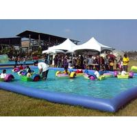 Quality Amusement Park Small Swimming Pools For Kids , Inflatable Swimming Pool For Family for sale