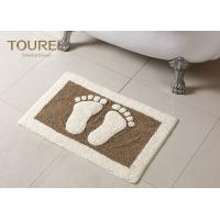Wholesale Bulge Big Feet  Icon Many Hotel Bath Mats Homor Design With Polyester Coral from china suppliers