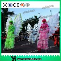 Wholesale Beautiful Festival Holiday Event Parade Walking Inflatable Wing Costume Customized from china suppliers