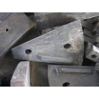 Wholesale Cr-Mo Alloy Steel For Ball Mill Side Liners With HRC33-43 And AK 70J from china suppliers