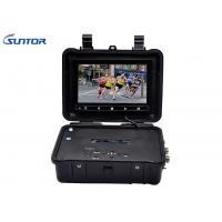 Wholesale 1 CH 7 Inch LCD COFDM Receiver , Audio Video Receiver With HDMI BNC Port from china suppliers