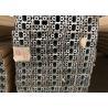 100mm x 50mm T Slot Aluminium Profile , Extruded Aluminium T Slot Track for sale