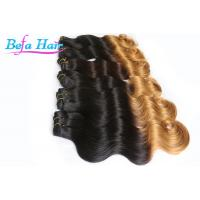 Wholesale Extra Long 36 Inch 7A Ombre Remy Hair Extensions Black To Grey For Ladies from china suppliers