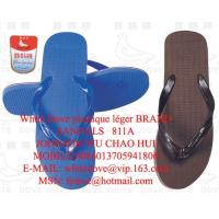 China good quality but cheap white dove slippers for men 811a z on sale