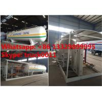 Buy cheap 2017s new 20tons skid lpg gas station with double digital weighting scales for Kenya, hot sale mobile skid lpg gas plant from Wholesalers