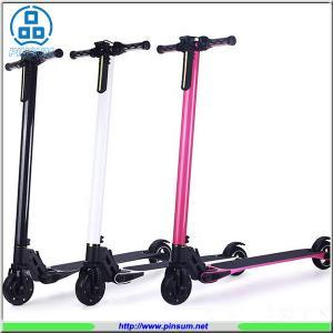 China Fashion Lightest 6.9KG Electric scooter foldable hoverboard carbon Fiber city bike on sale