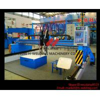 Wholesale Single Side CNC Flame Cutting Machine With Cutting Torches , Siemens / Schneider Electrical Parts from china suppliers
