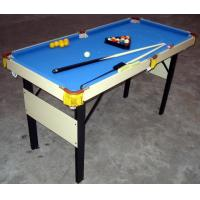 Wholesale Folding Mini Snooker Game Table , PlusOne Sports Pool Billiard Table For Kids Fun from china suppliers