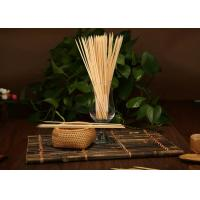 Wholesale Good Hardness Decorative Fruit Skewers , Thin Bamboo Sticks For Food from china suppliers