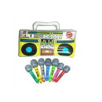 "Wholesale Colorful 16"" Inflatable Kids Toys Microphones Speaker & Musical Instruments from china suppliers"