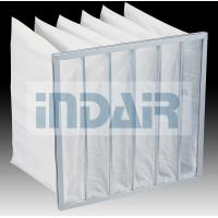 Wholesale Lightweight High Flow Air Filter 595x595x600mm With Aluminium Zinc Plate Frame from china suppliers