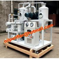 China Vacuum Oil Cleaning System Regeneration ,dehydration, degasifier refining and Recycling Used Transformer Insulating Oil on sale
