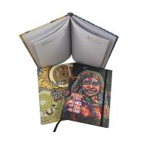 China Hardcover Custom Planner Printing With Elastic Band Embossed Finishing for sale