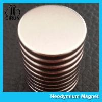 Wholesale N52 N42 Industrial Neodymium NdFeb Rare Earth Flat Disc Magnet from china suppliers