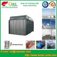 Wholesale Carbon Steel Boiler Air Preheater / Airpreheater Boiler Spare Part Fire Prevention from china suppliers