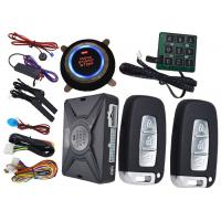 Wholesale Passcode Car Security Protection PKE Alarm System , Remote Vehicle Starter System Bypass Output from china suppliers