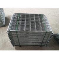 Wholesale Easy Install Galvanized Farm Mesh Fencing , Durable Rural Farm Gates from china suppliers