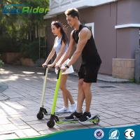 Buy cheap Carbon Foldable Electric Scooter with 350 Watt Brushless Motor , Electric Kick Scooter from wholesalers